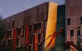 Copper_Building_Sunrise_Light_Reflection_Boom_Lift_01.jpg