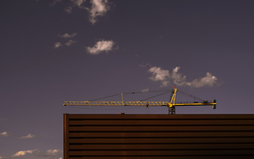 Downtown_Tempe_October_Evening_Sunlit_Crane_with_Metal.jpg